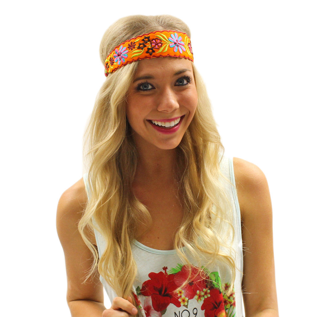 Summertime Splashing Headband Orange
