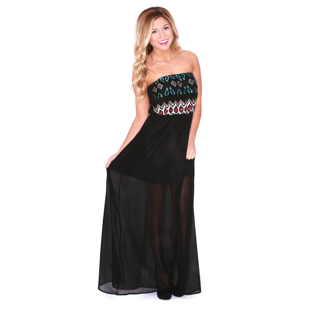 Sunkissed Divine Maxi Black