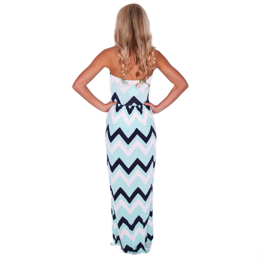 Sunkissed Stripe Maxi in Mint