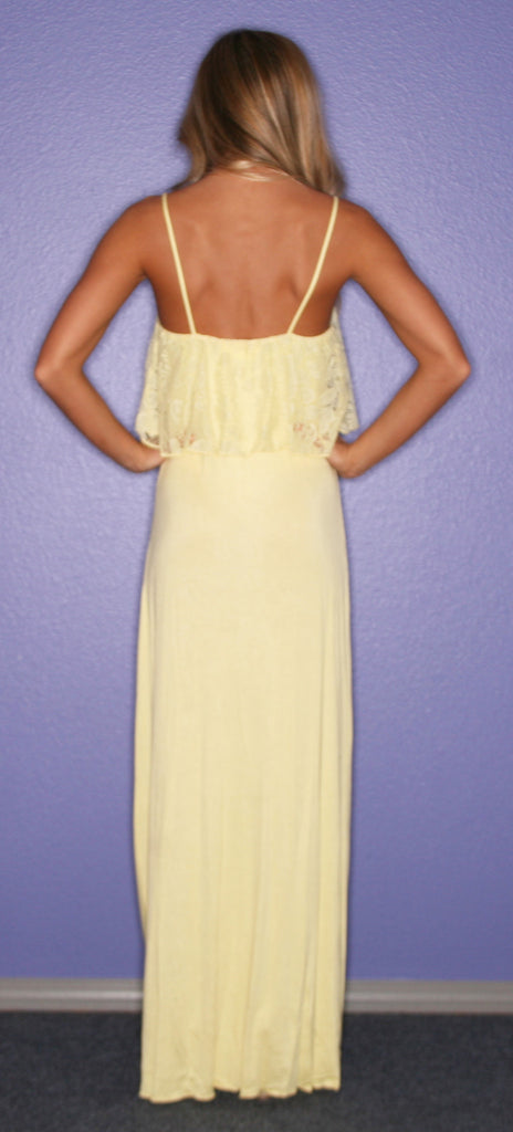 Sunrise, Sunset Maxi in Yellow