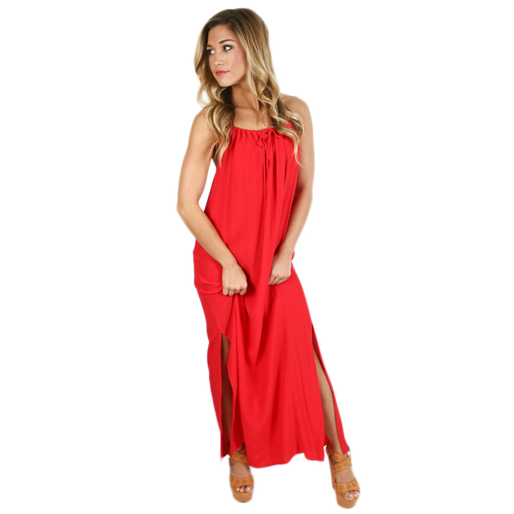 Sunset Maxi Red