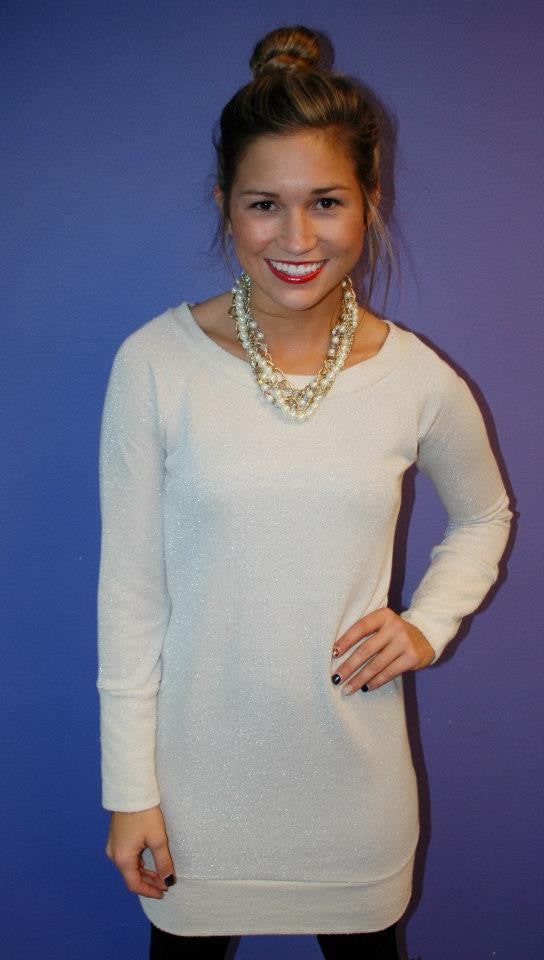 Glam Girl Sweater Dress