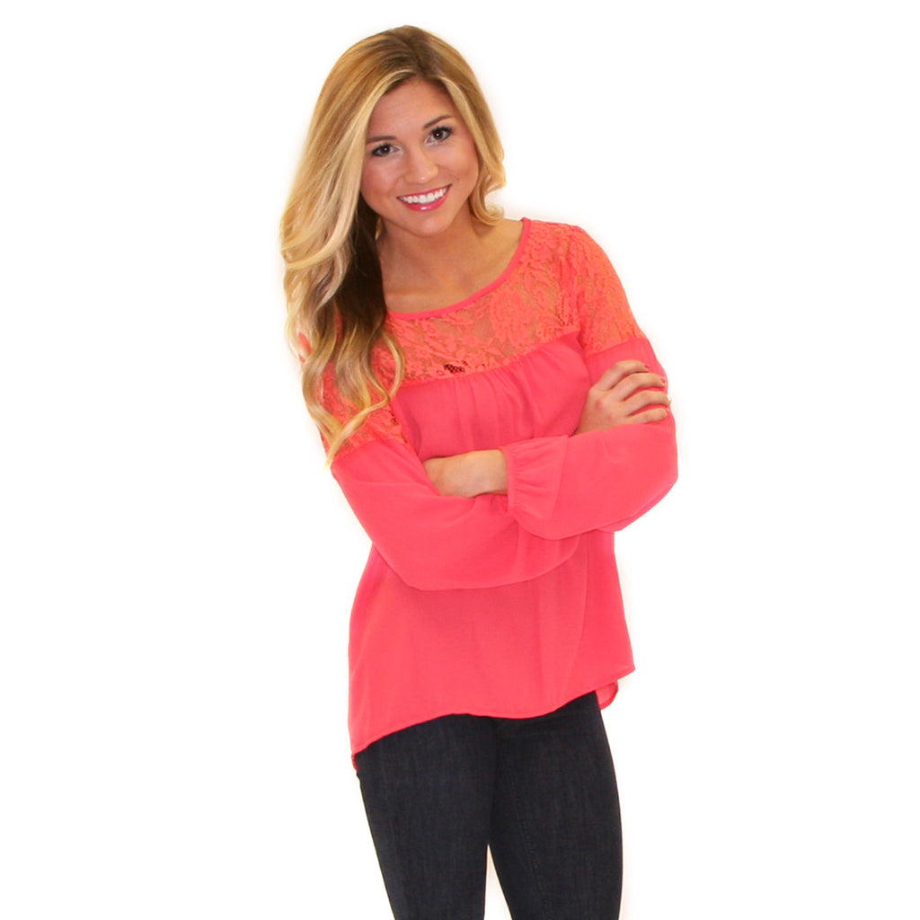 Sweet & Southern in Coral