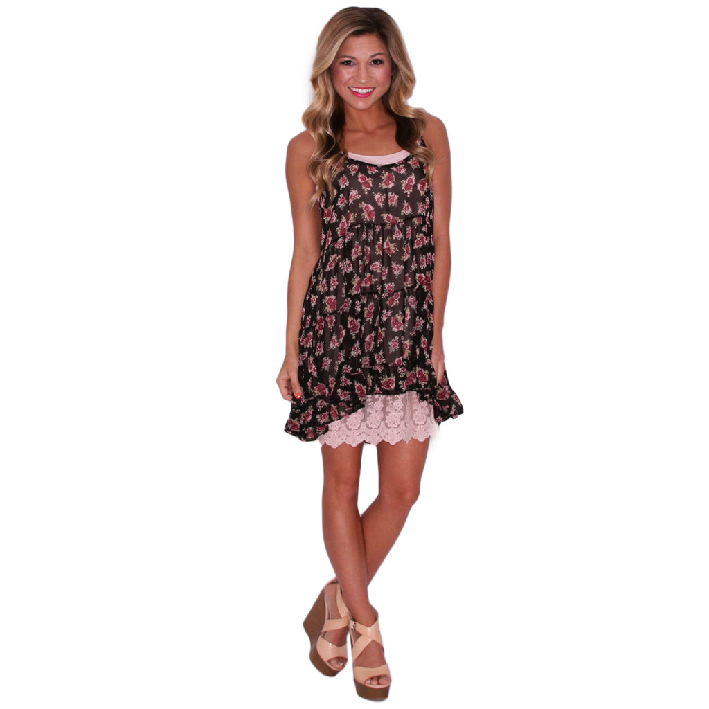 Sweet Caroline Slip Dress