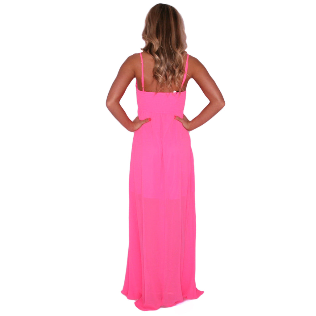 Sweetest Serendipity Maxi in Pink