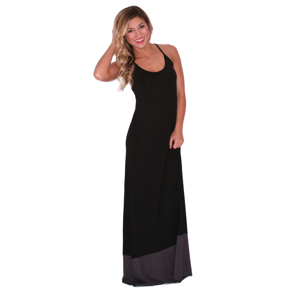 Sweetest Summertime Maxi in Black