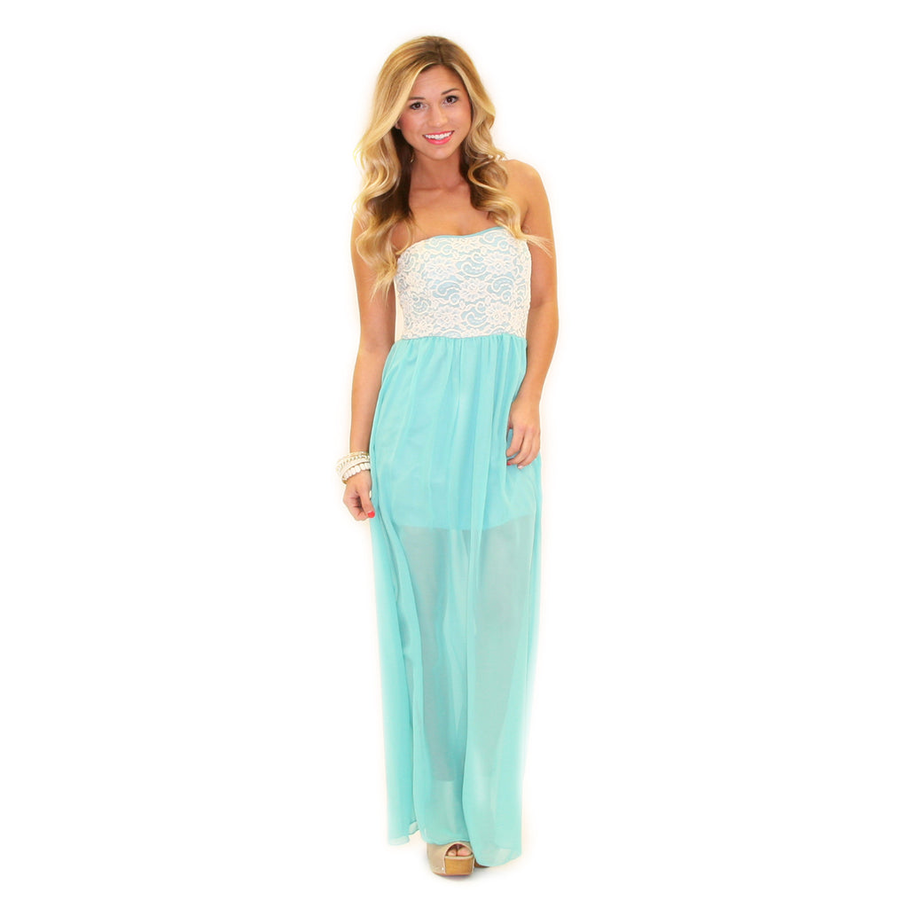 Sweetheart Brunch Maxi Mint