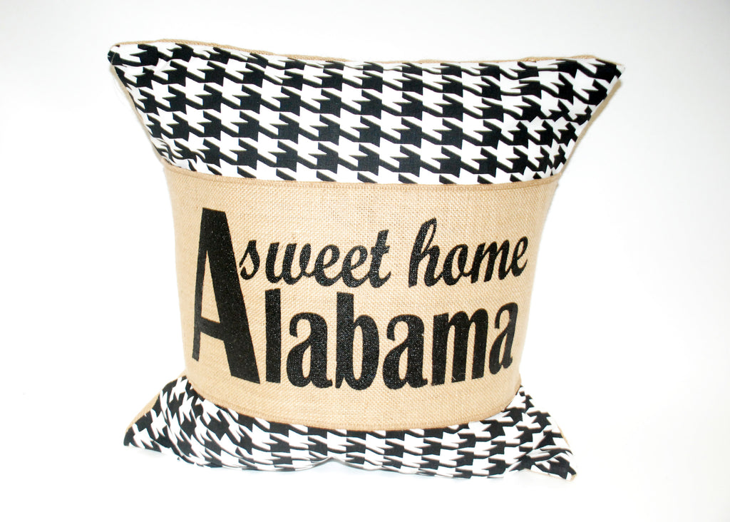 """Home Sweet Alabama"" Pillow"