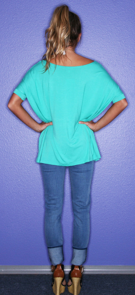 Short Sleeve Teal PIKO