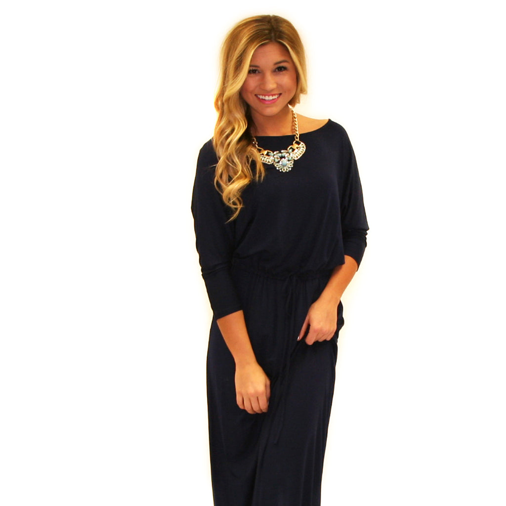 Perfect Fit Maxi in Navy