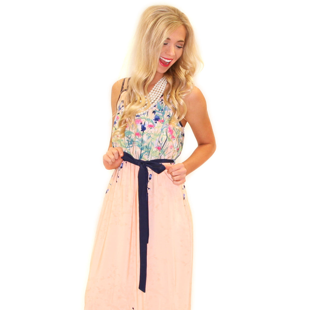 Tickle Me Pink Maxi