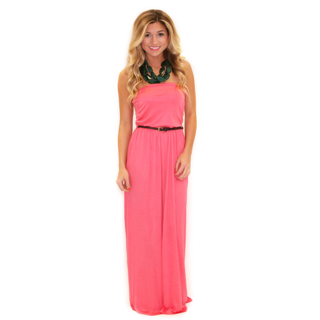 Time For Love Maxi in Pink