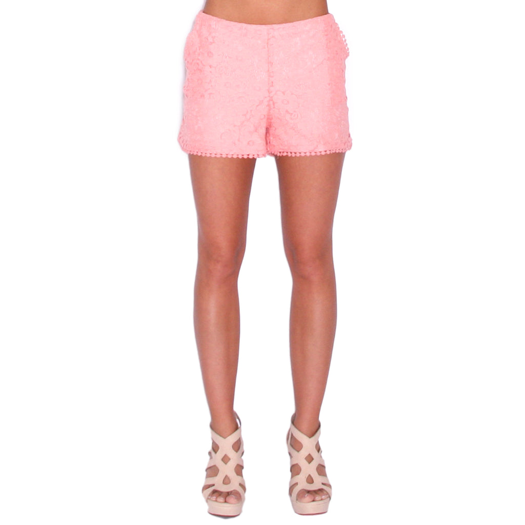 Touch Of Whimsy Shorts in Blush