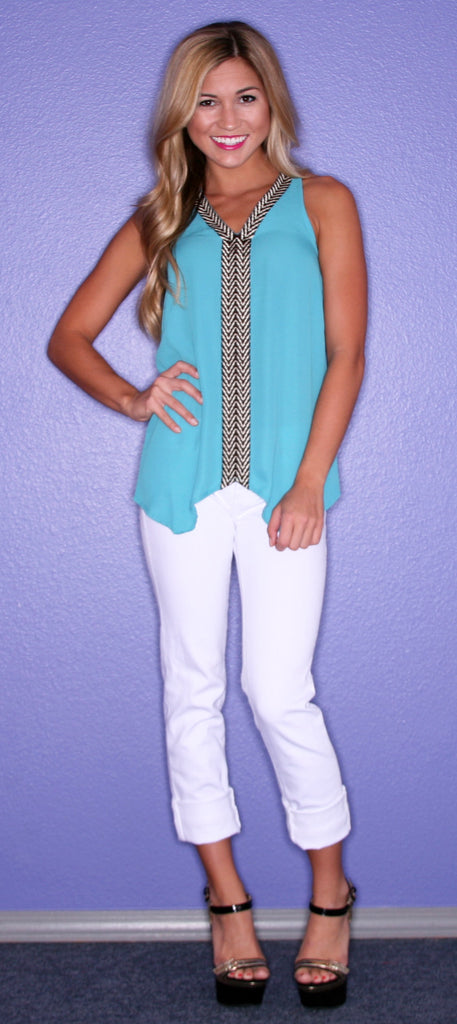 Tribal Glam Turquoise
