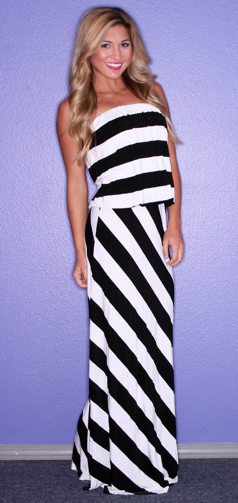 St. Tropez Stripe Black