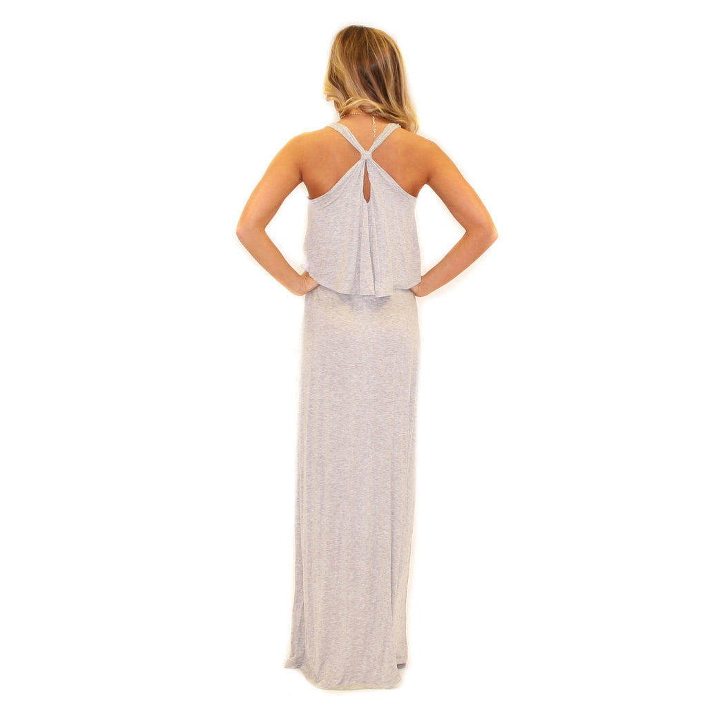 Truest Virtue Maxi Heather Grey