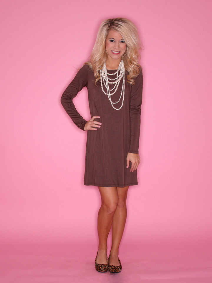Impress Tunic Brown