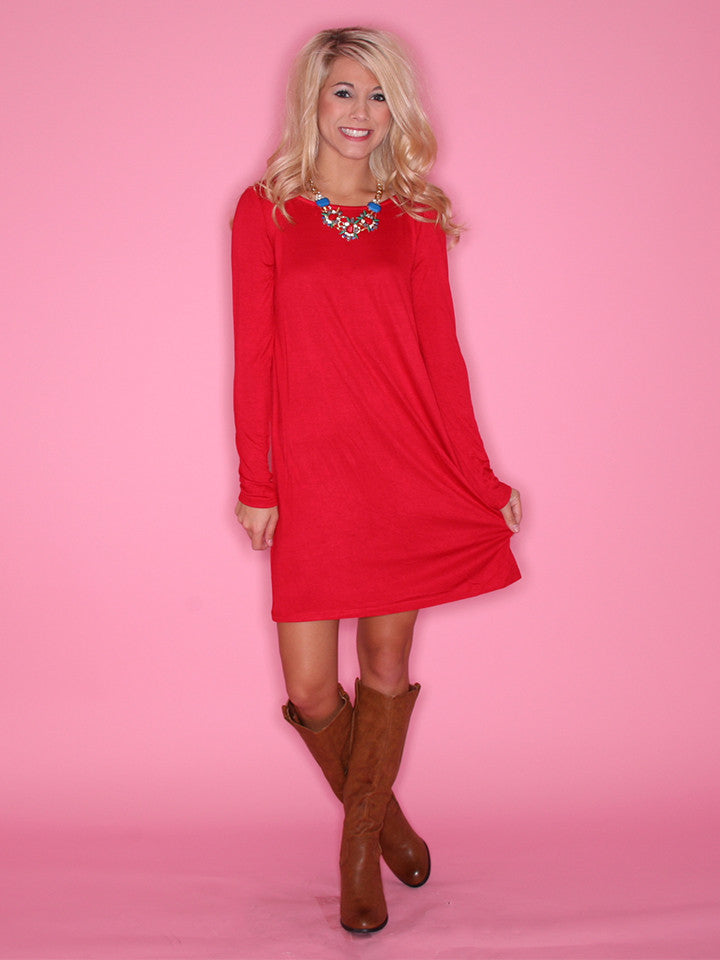 Impress Tunic Red