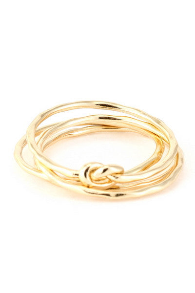 Stack Ring in Gold