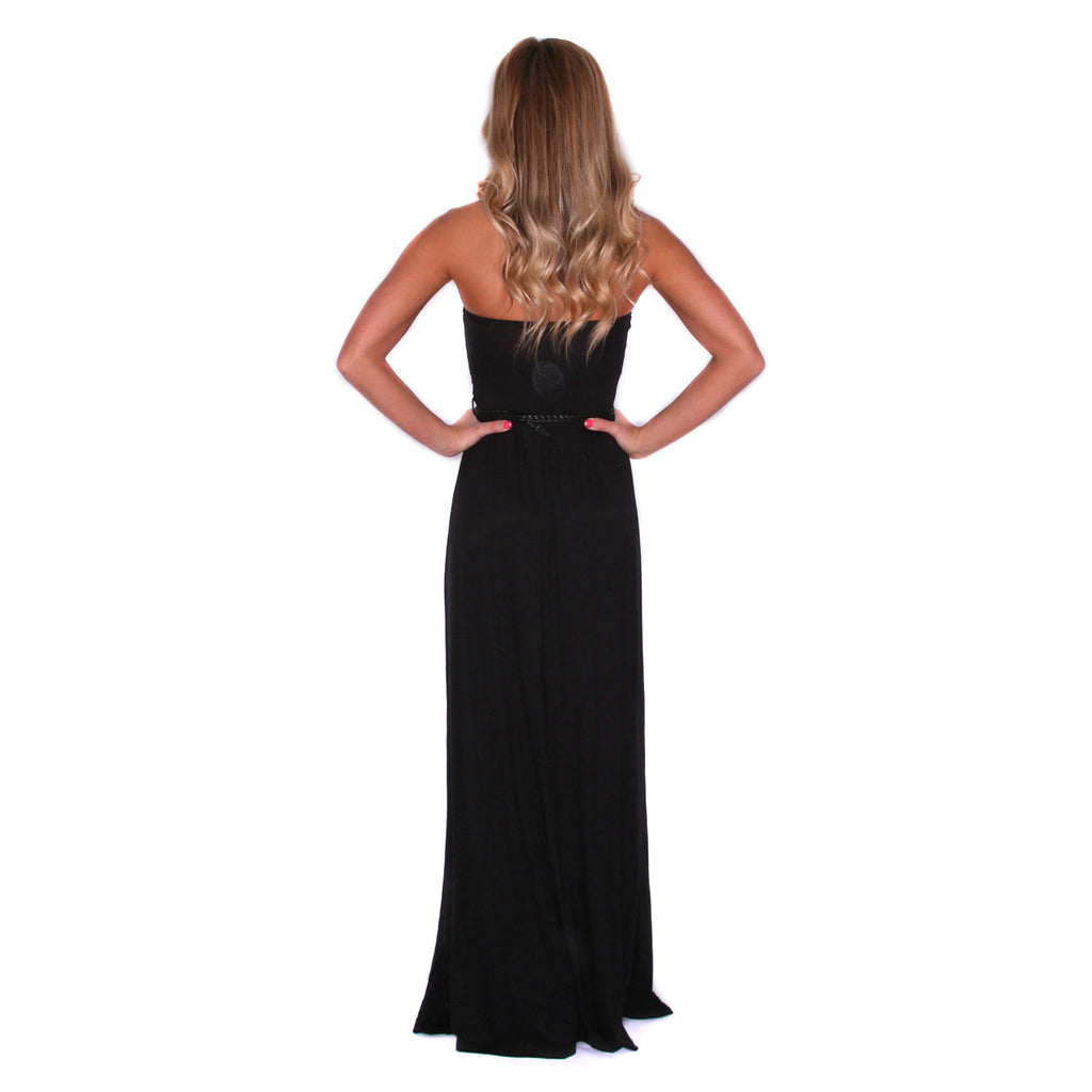 Vacation Sunset Maxi Black