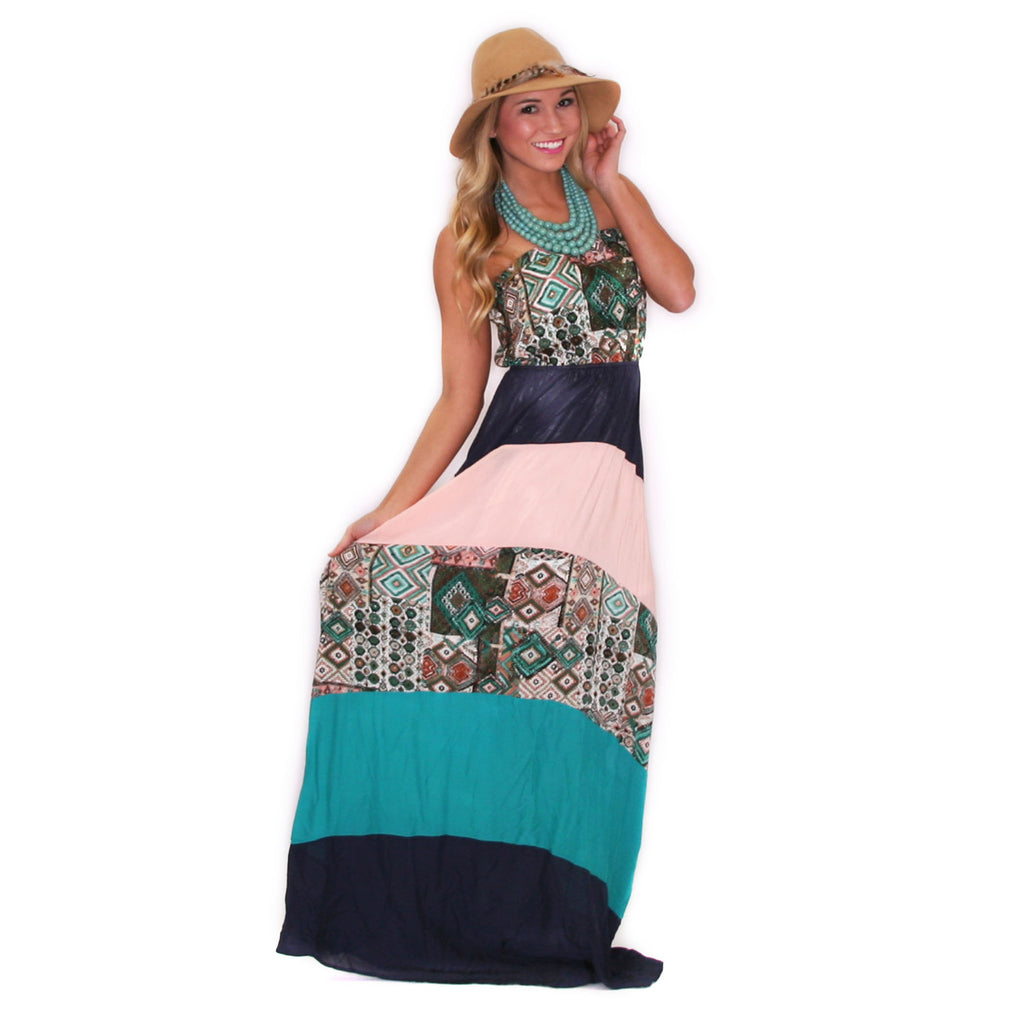 Walking in the Park Maxi Navy