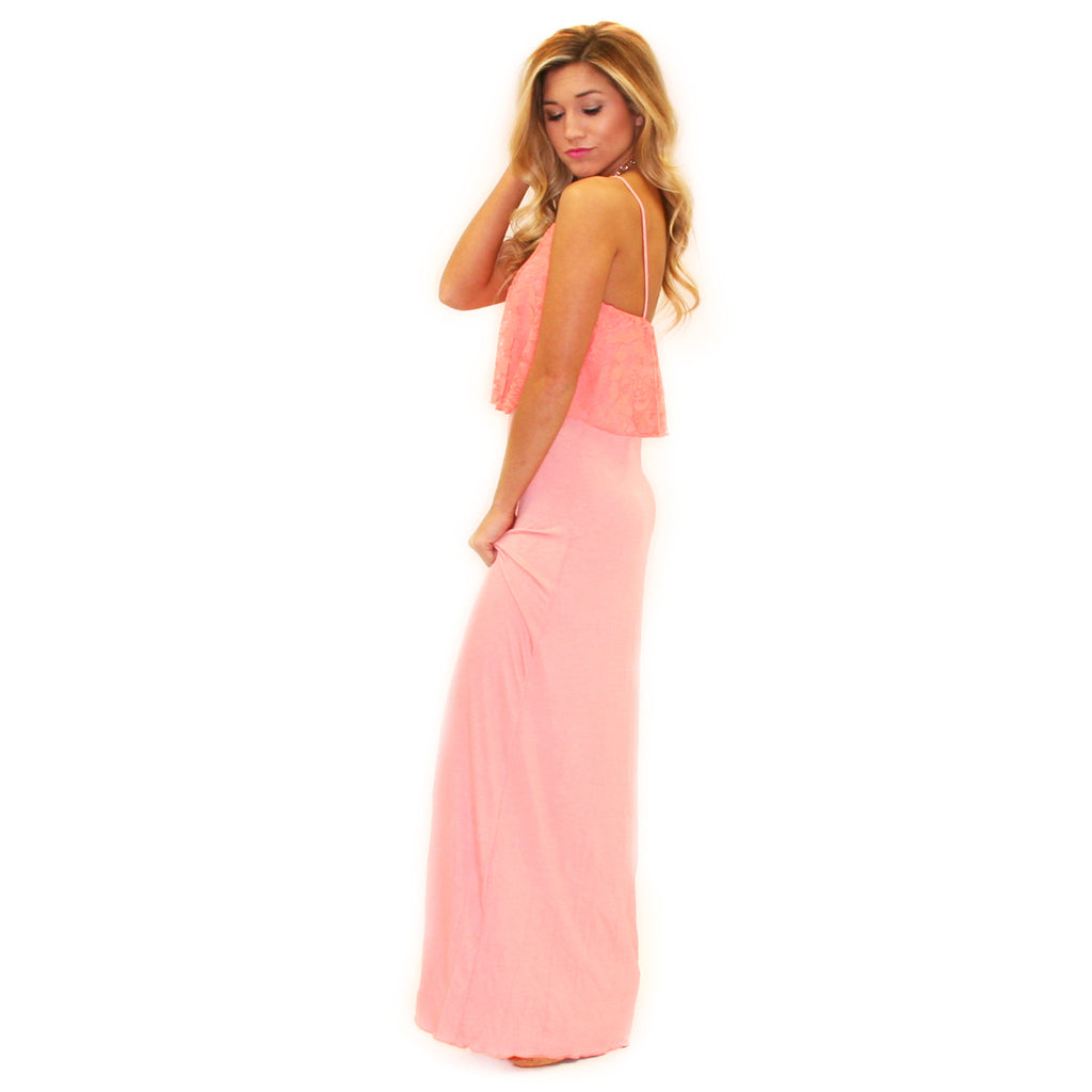 Walks On The Beach Maxi Pink