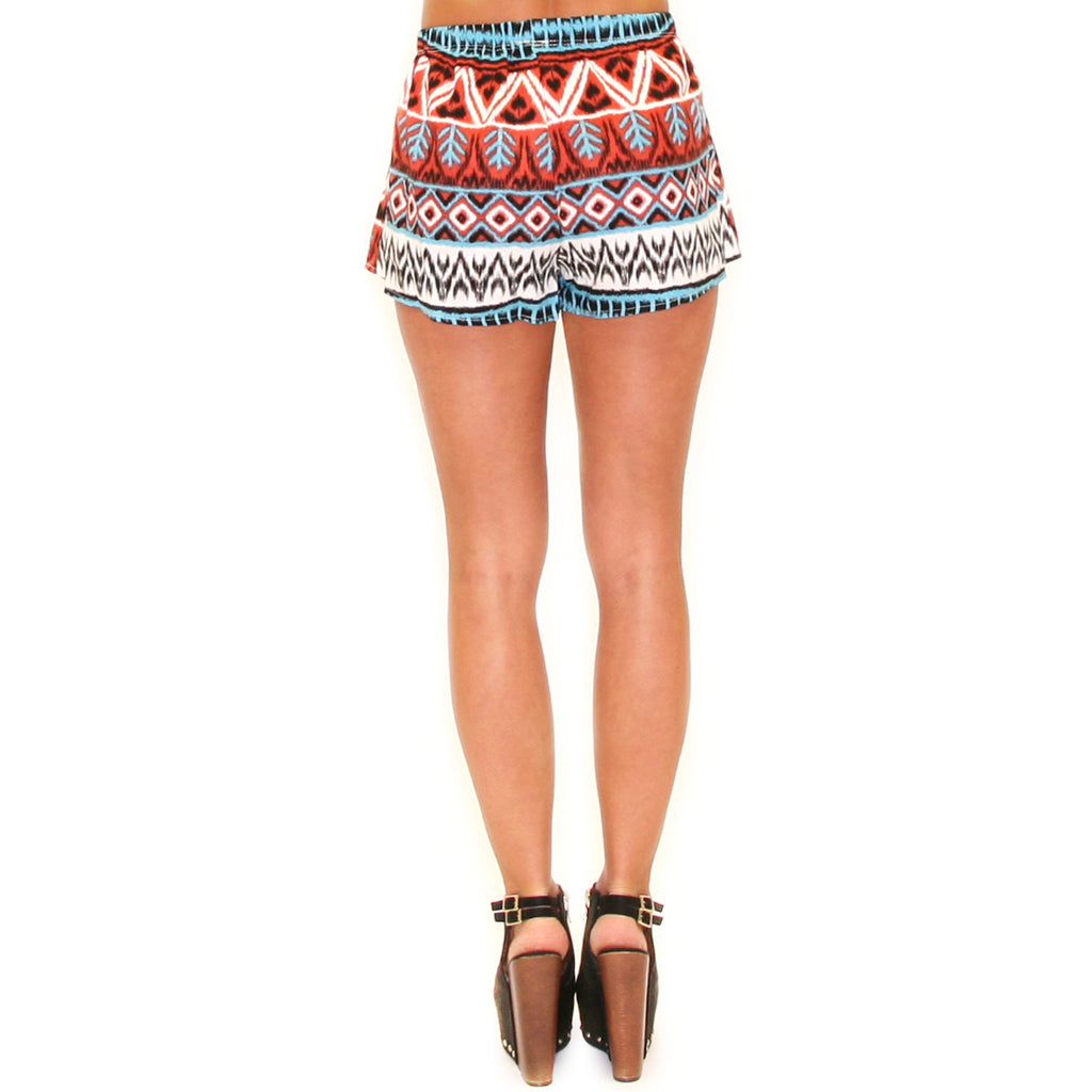 Walk The Runway Short Orange