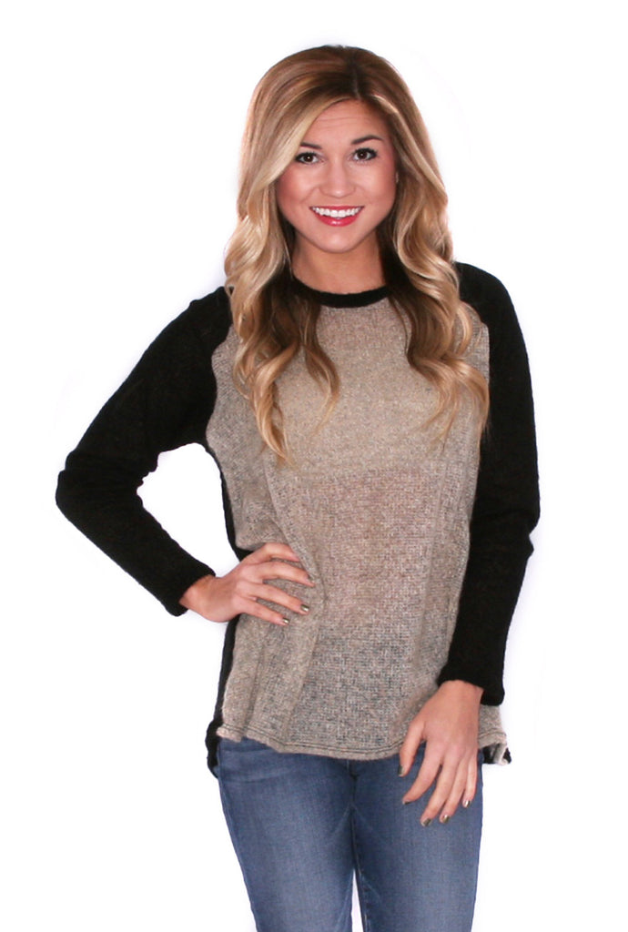 Weekend Cuddles Sweater Black