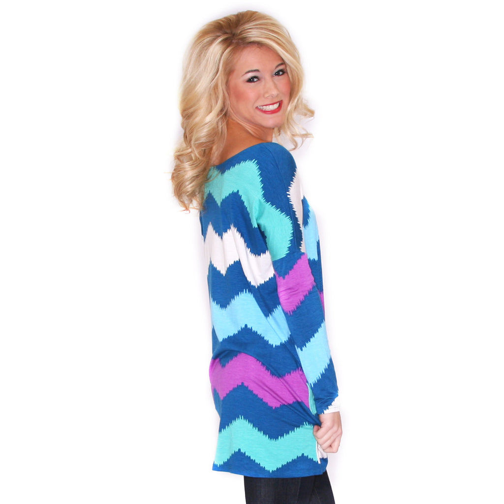 West Coast Dreaming Tunic Teal