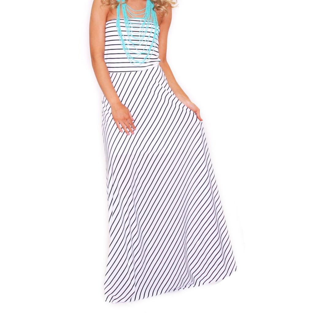 West Coast Stripes Maxi