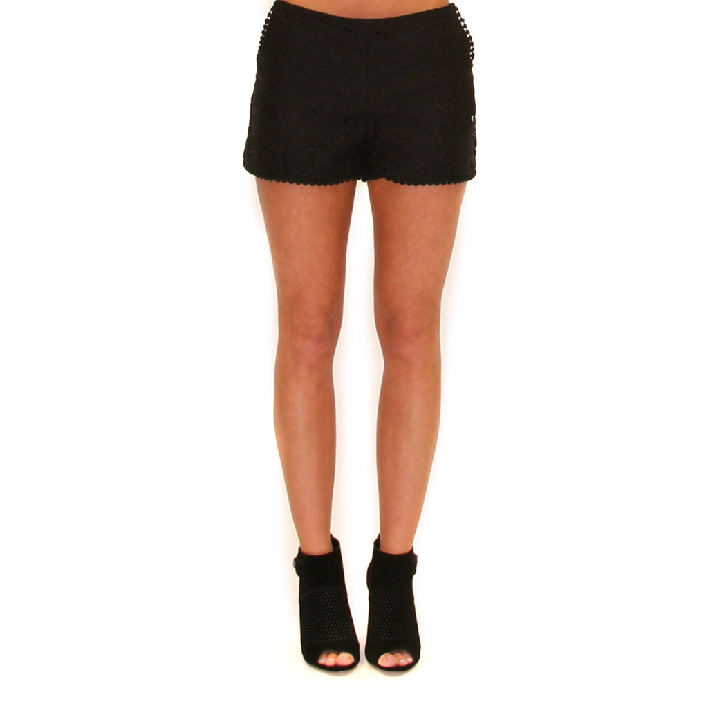 Touch Of Whimsy Shorts Black