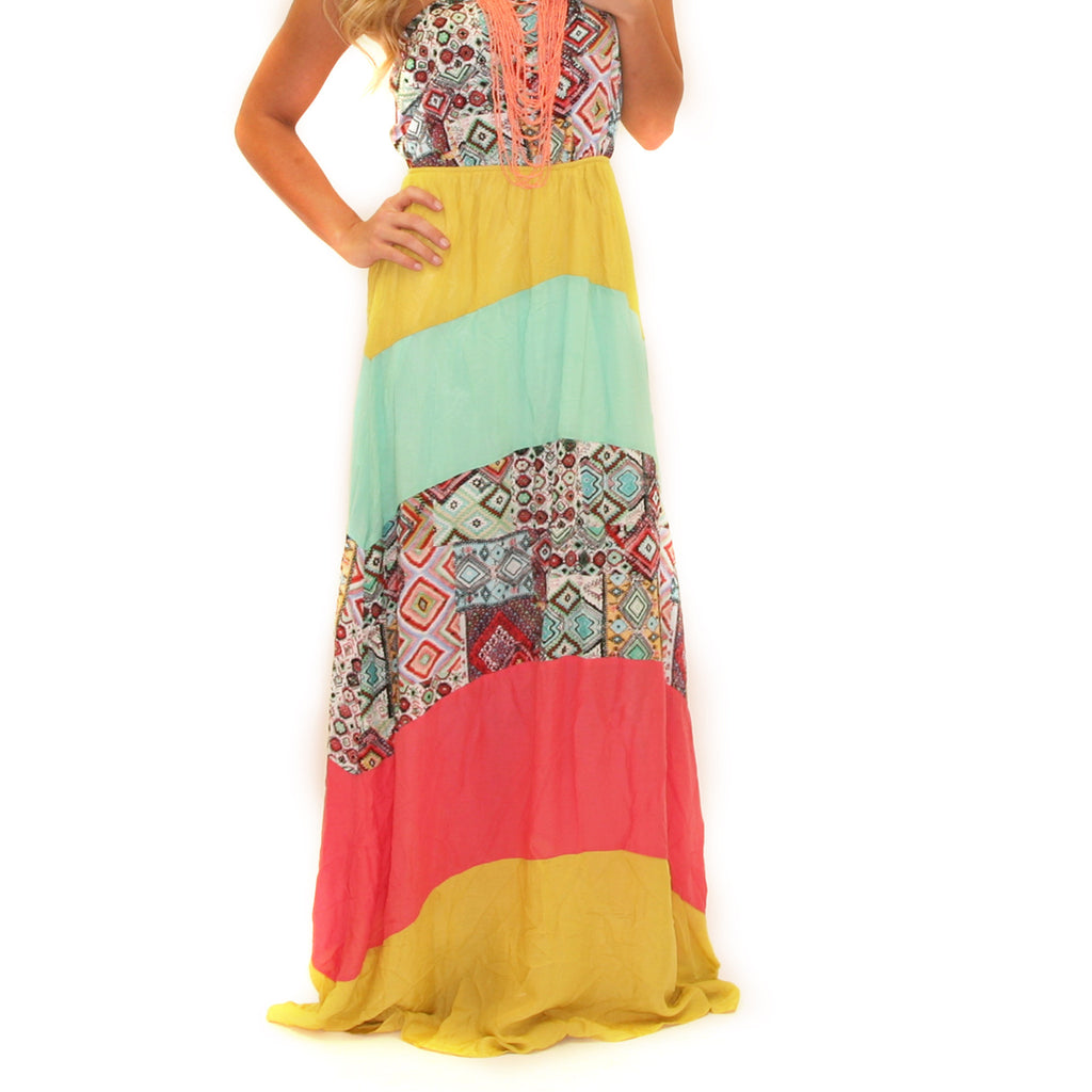Walking In The Park Maxi Yellow