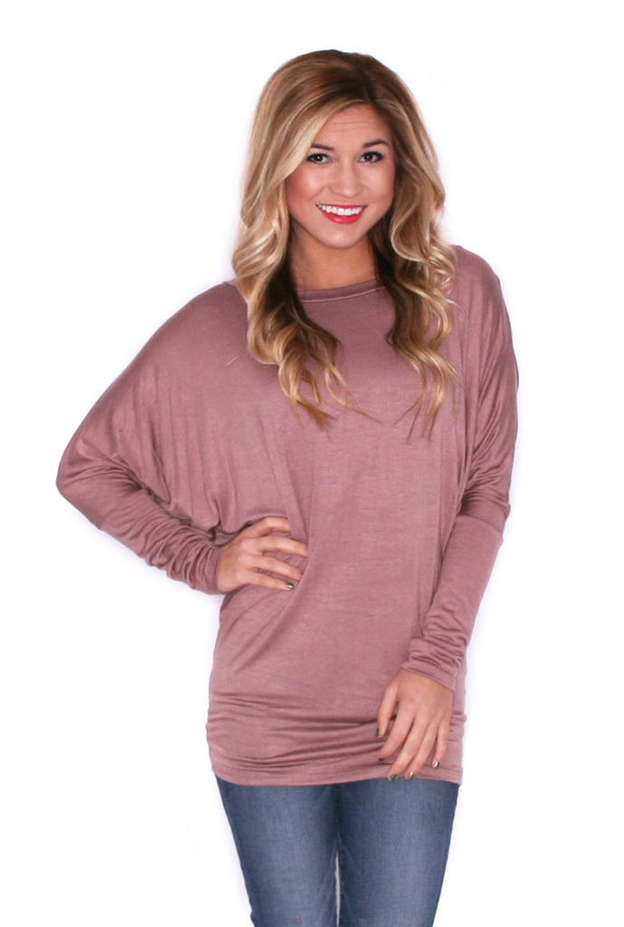 Wrap Me Up Tunic Tan