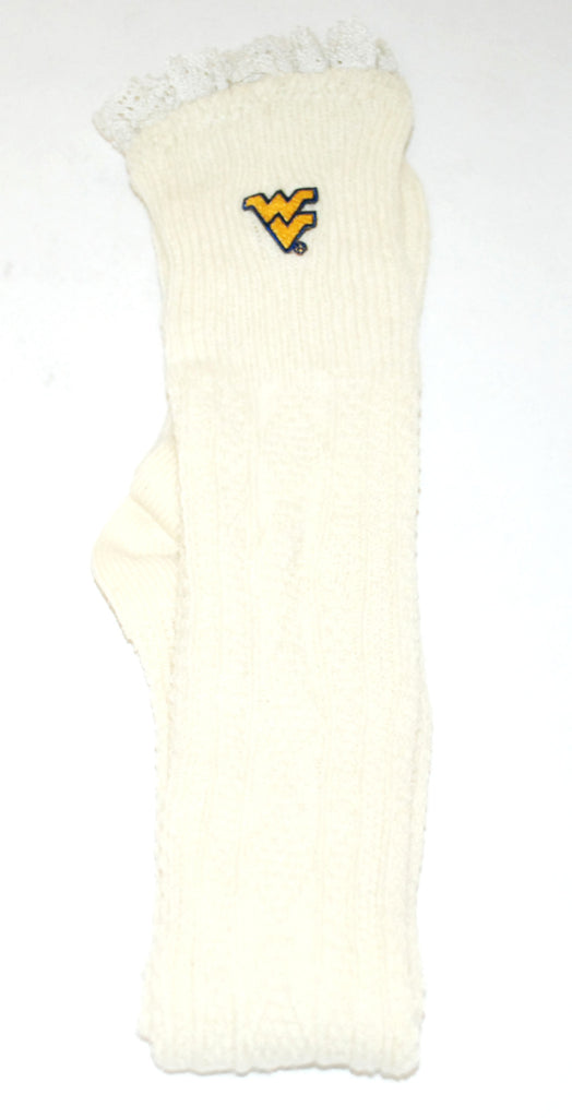 Collegiate Leg Warmers West Virginia