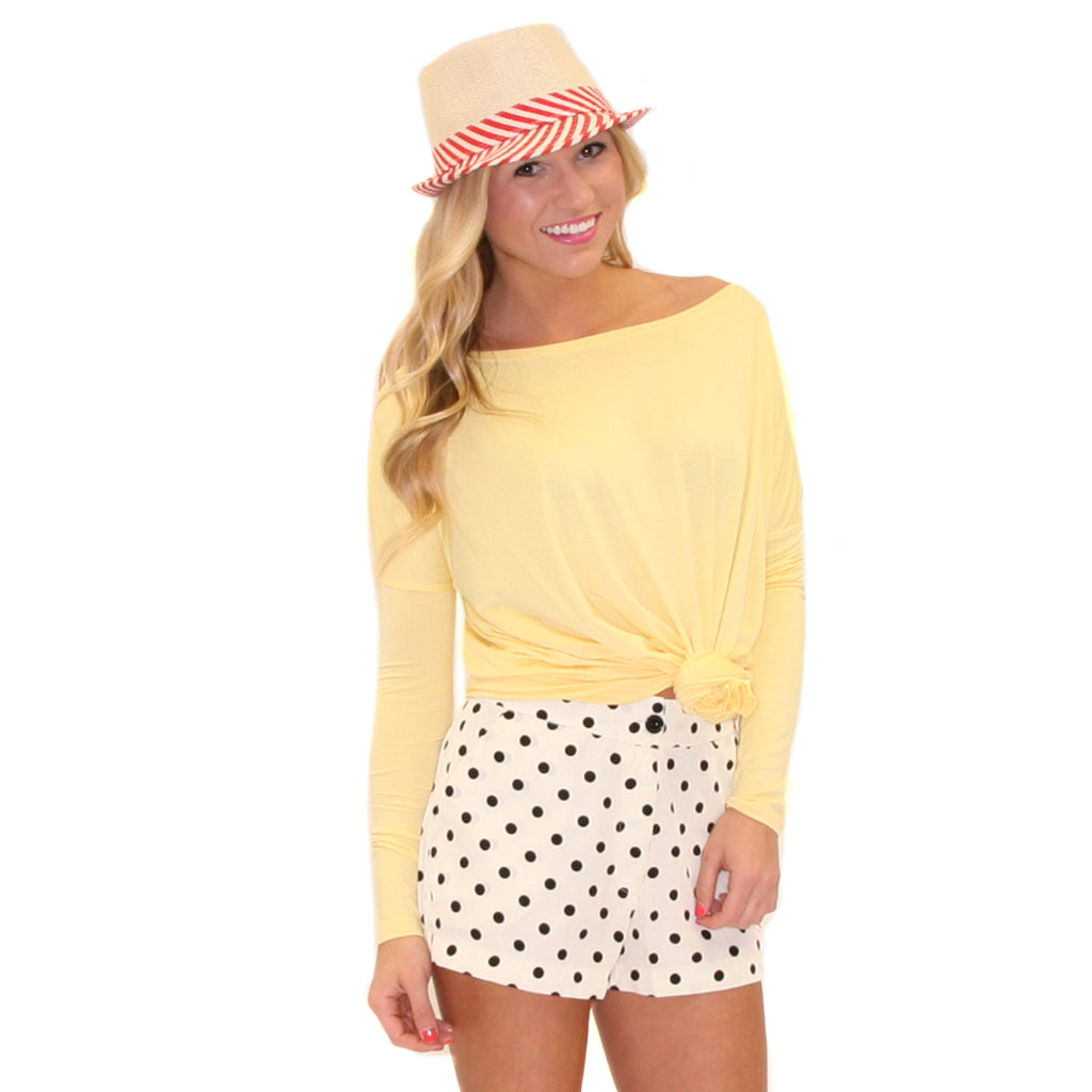 PIKO Tee in Pastel Yellow