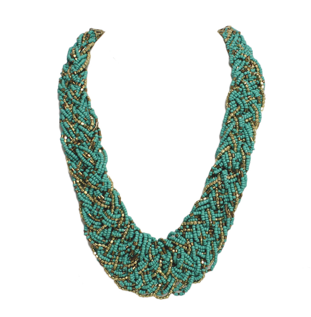 You're So Divine Necklace in Teal
