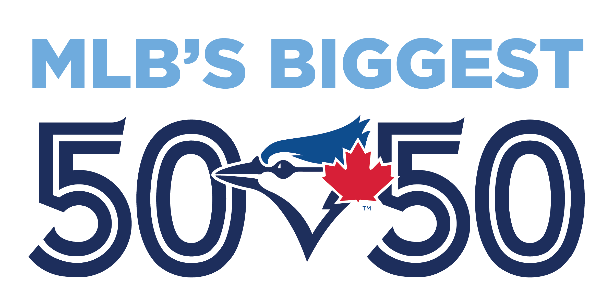 Jays Care 50/50 Logo