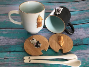 Doggy Spoon and Mugs