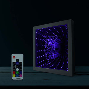 Color Changing Infinity Mirror
