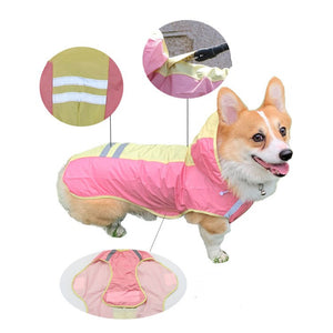 Doggy Reflective Raincoat