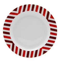 Set of 4 Dinner Plates, SLICE