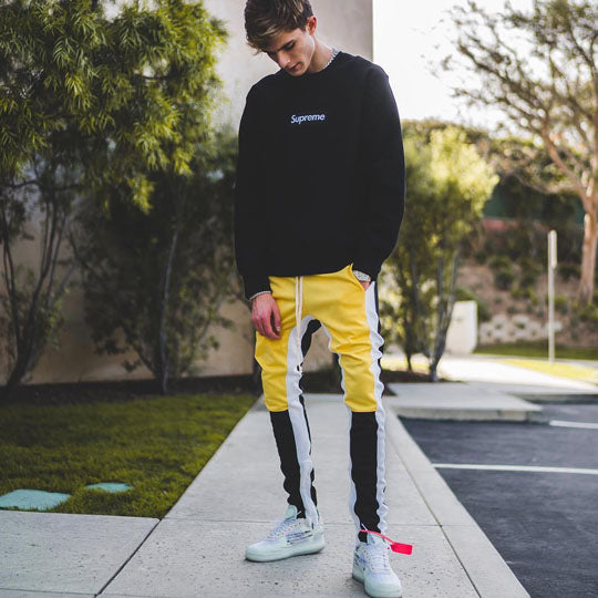 27 Track Pants Yellow