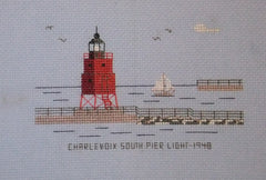 Charlevoix South Pier Light - 1948
