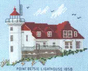 Point Betsie Lighthouse 1858