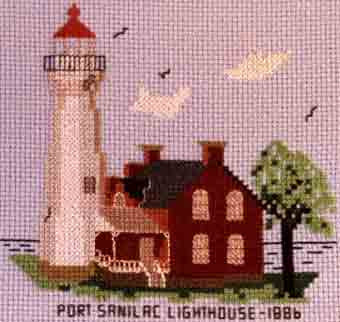 Port Sanilac Lighthouse 1886