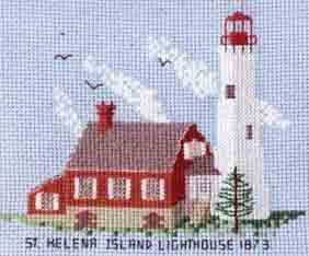 St. Helena Island Lighthouse 1873