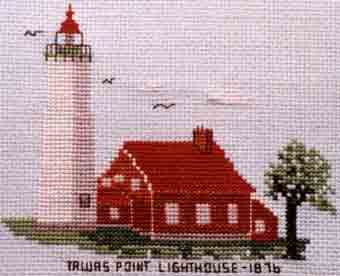 Tawas Point Lighthouse 1876