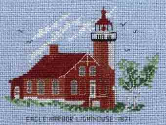 Eagle Harbor Lighthouse 1871