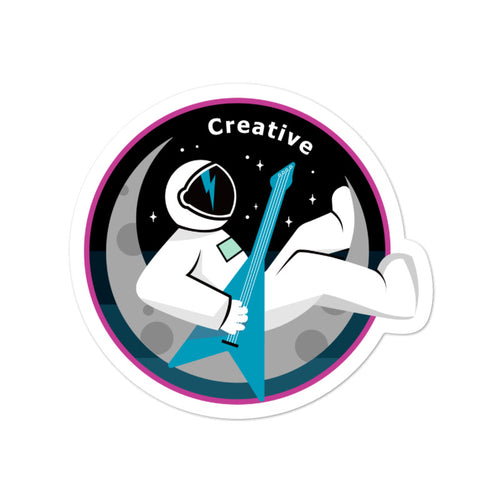 Major Tom Crew Patch Sticker - Creative
