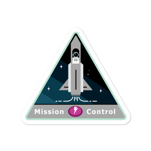Major Tom Crew Patch Sticker - Mission Control